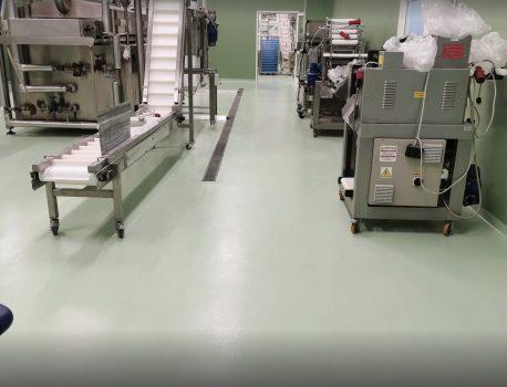 Pavimenti in resina: la soluzione ideale per le aziende del comparto alimentare