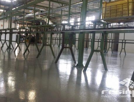 Pavimentazioni per aziende meccaniche: la qualità superiore Resinpox